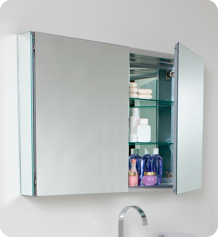 modern bathroom mirror cabinets fresca mezzo 39 quot gray oak modern bathroom vanity with 19572
