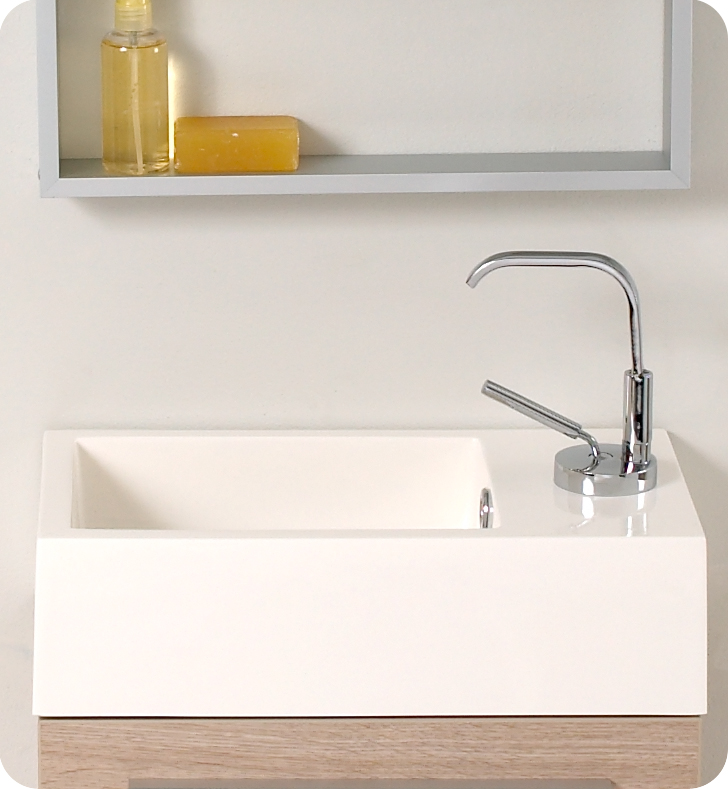 Fresca Pulito Light Oak Modern Bathroom Vanity