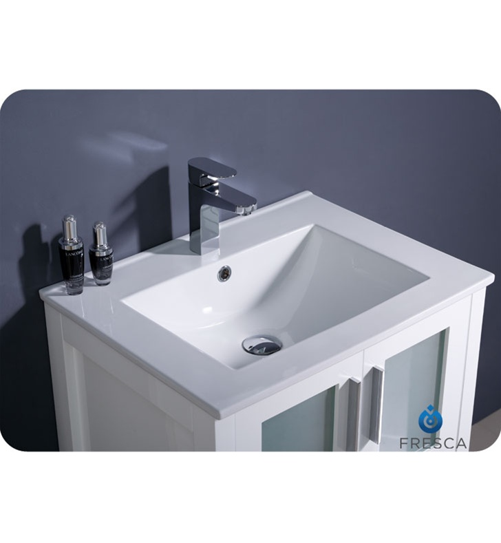 fresca torino 24 espresso modern bathroom vanity with undermount