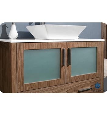 Fresca Torino 36 Walnut Modern Bathroom Vanity with Vessel Sink