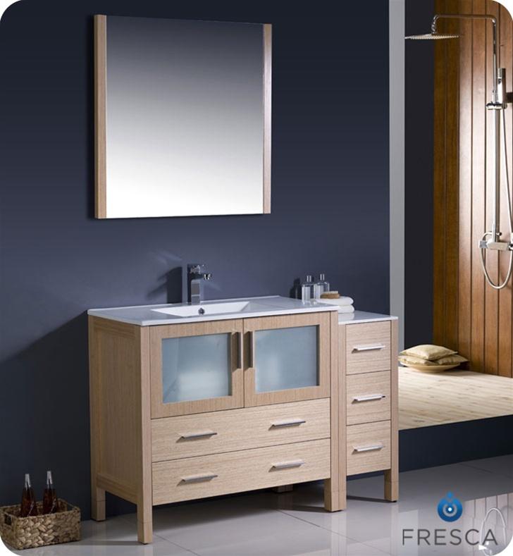 Fresca Torino 48 Quot Modern Bathroom Vanity With Color