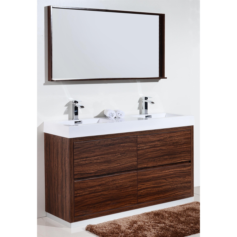 59 Taiya Bathroom Vanity In Toga White Double Sink Broadway