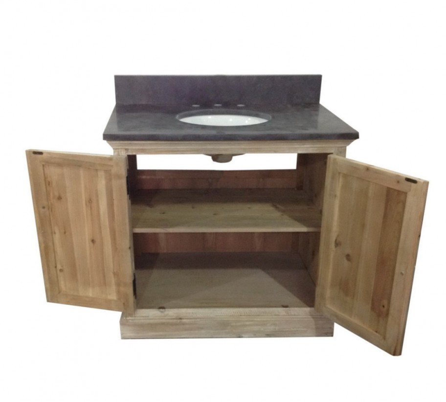 Legion 36 Inch Rustic Single Sink Bathroom Vanity Wk1836