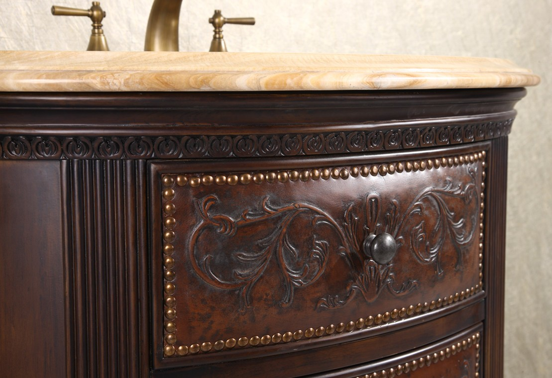 Vanity Cabinet Crestwood 36 Inch Marble