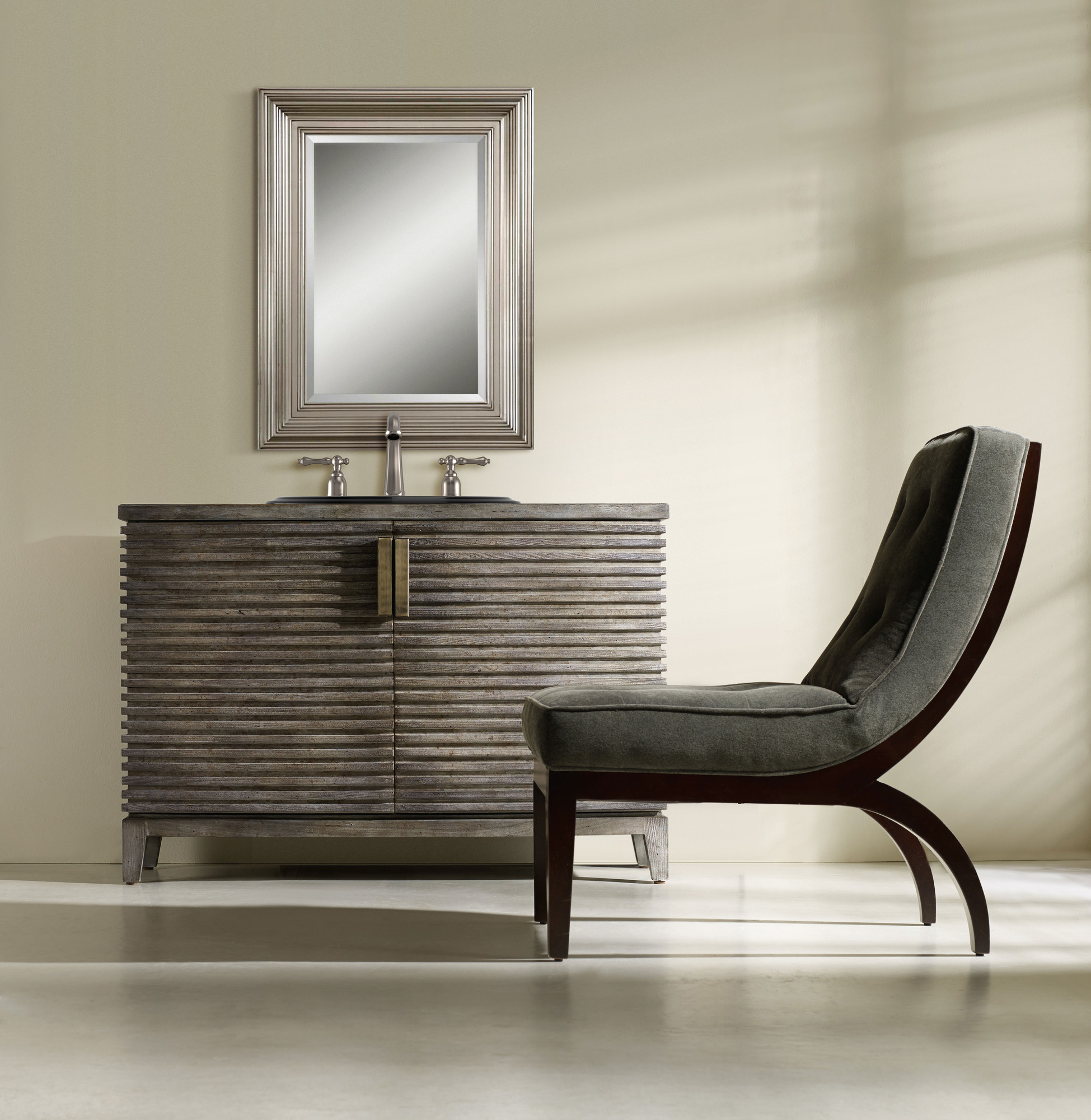 Milano 50 Inch Hall Chest Bathroom Vanity By Cole Co Designer Series