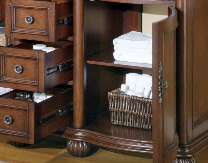 Silkroad Exclusive Ltr 0180 T Uwc 52 52 Inch Double Sink Bathroom Vanity Roman Vein Cut Travertine Countertop