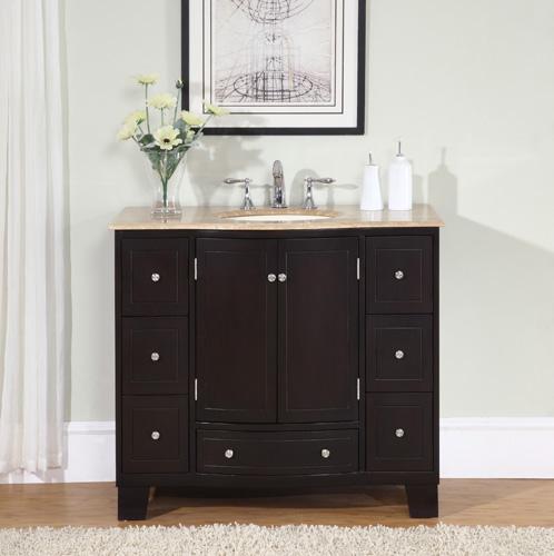 Silkroad Hyp 0703 40 Bathroom Vanity