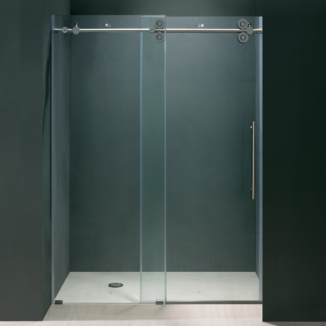 Vigo Inch Frameless Shower Door - Seamless bathroom shower doors