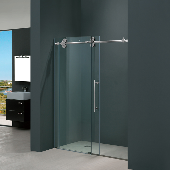 Vigo 31 60 Inch Frameless Shower Door Chrome Fishing