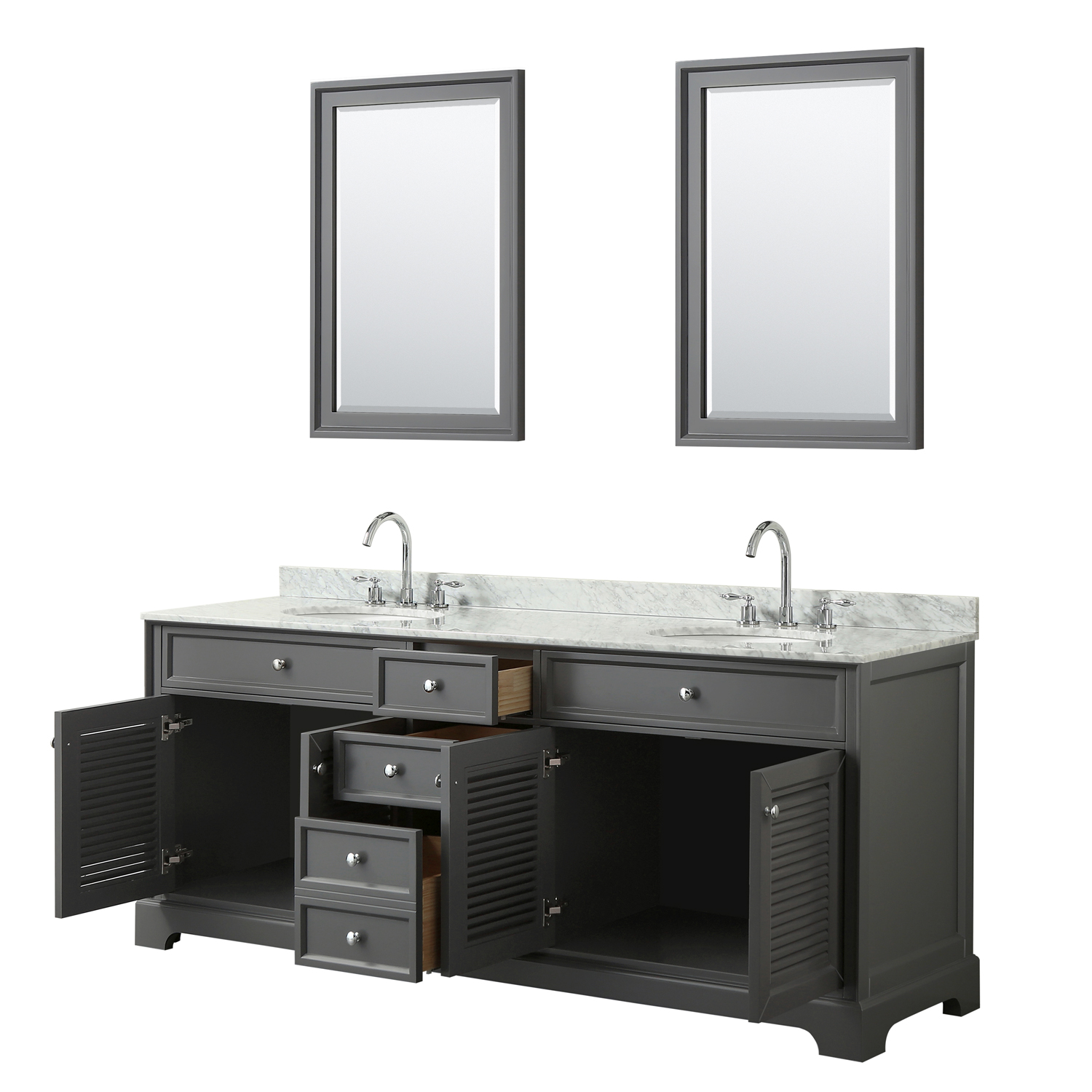 80 inch mirror wyndham collection undermount square 80 inch double bathroom vanity in dark gray white carrara marble countertop oval 80