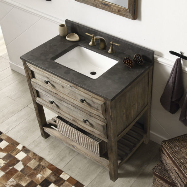 rustic modern bathroom vanities 36 inch rustic modern bathroom vanity fully assembled 20294