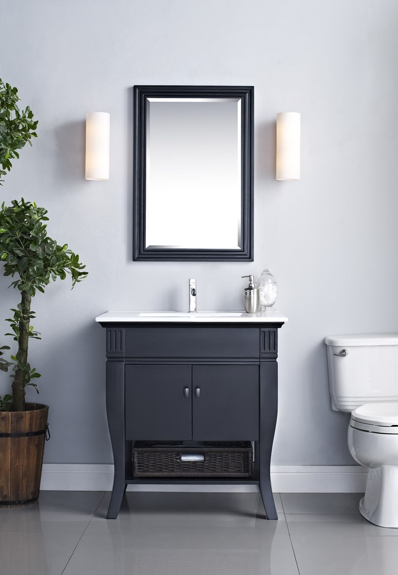 basin chariot bathroom in china white with vanities p and top vanity inch driftwood tops vitreous