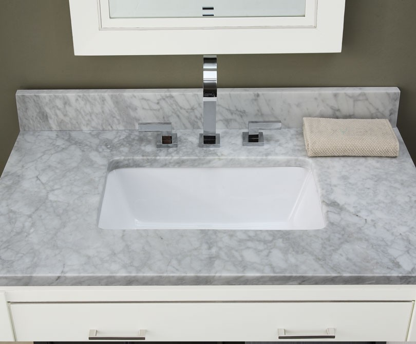 Bathroom Vanity And Top manhattan 24 inch contemporary bathroom vanity white finish