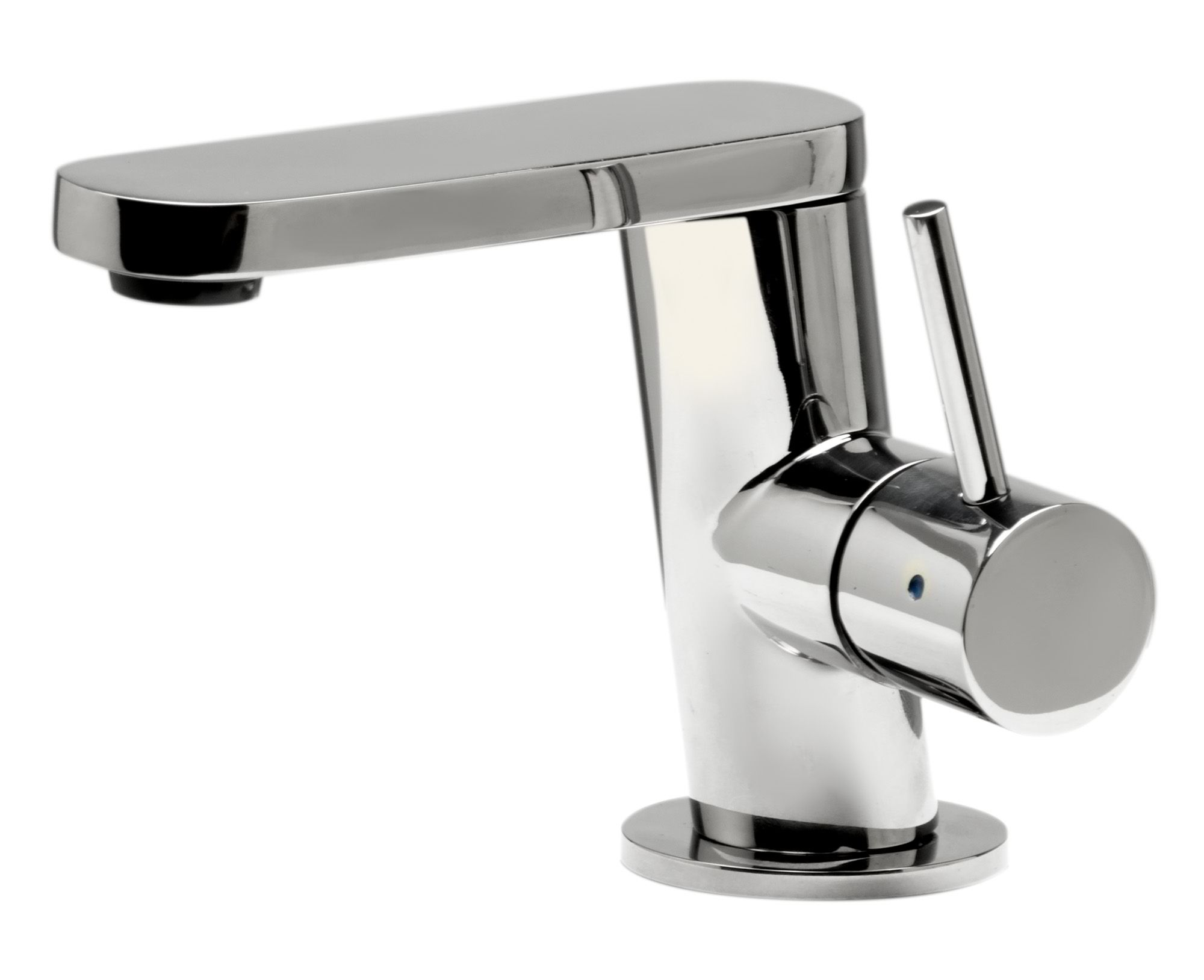 ALFI Brand AB Ultra Modern Polished Or Brushed Stainless Steel - Brushed stainless steel bathroom faucet