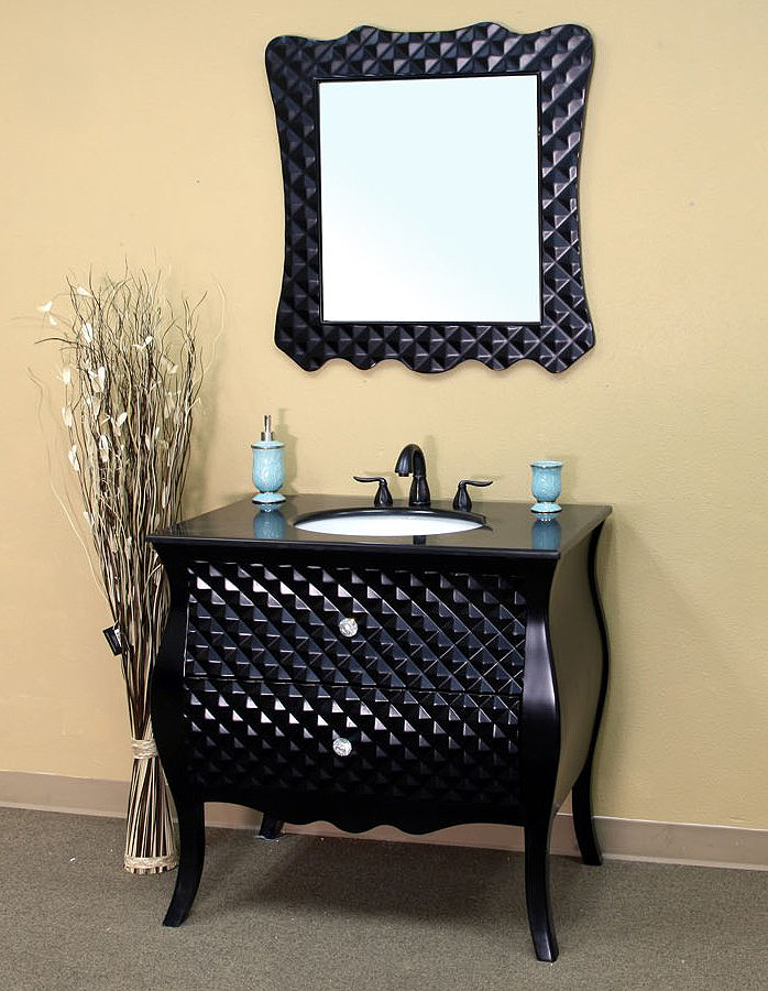 Low Cost Black Bathroom Vanities | Black Bathroom Vanities