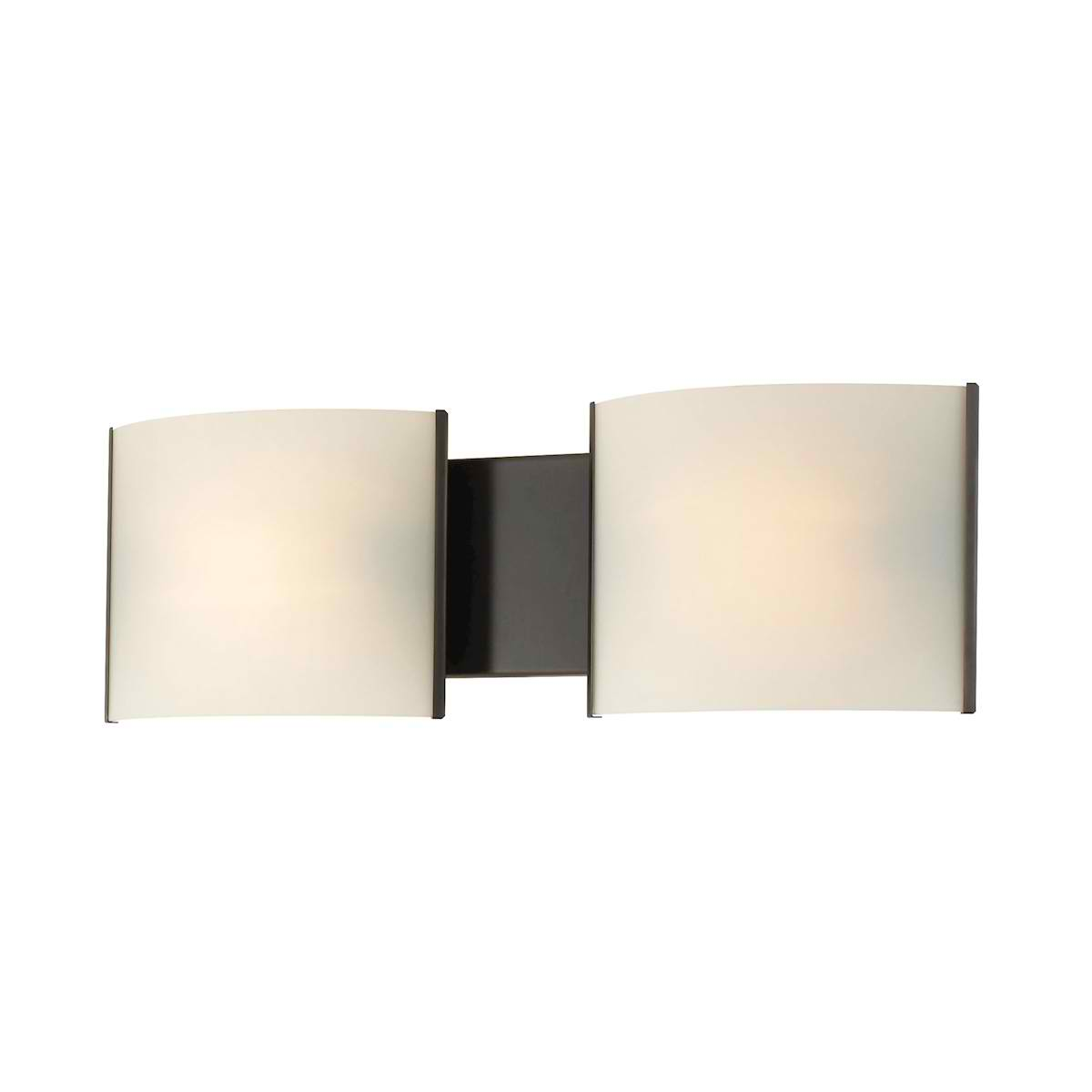Pannelli 2 Light ORB with White Opal Glass