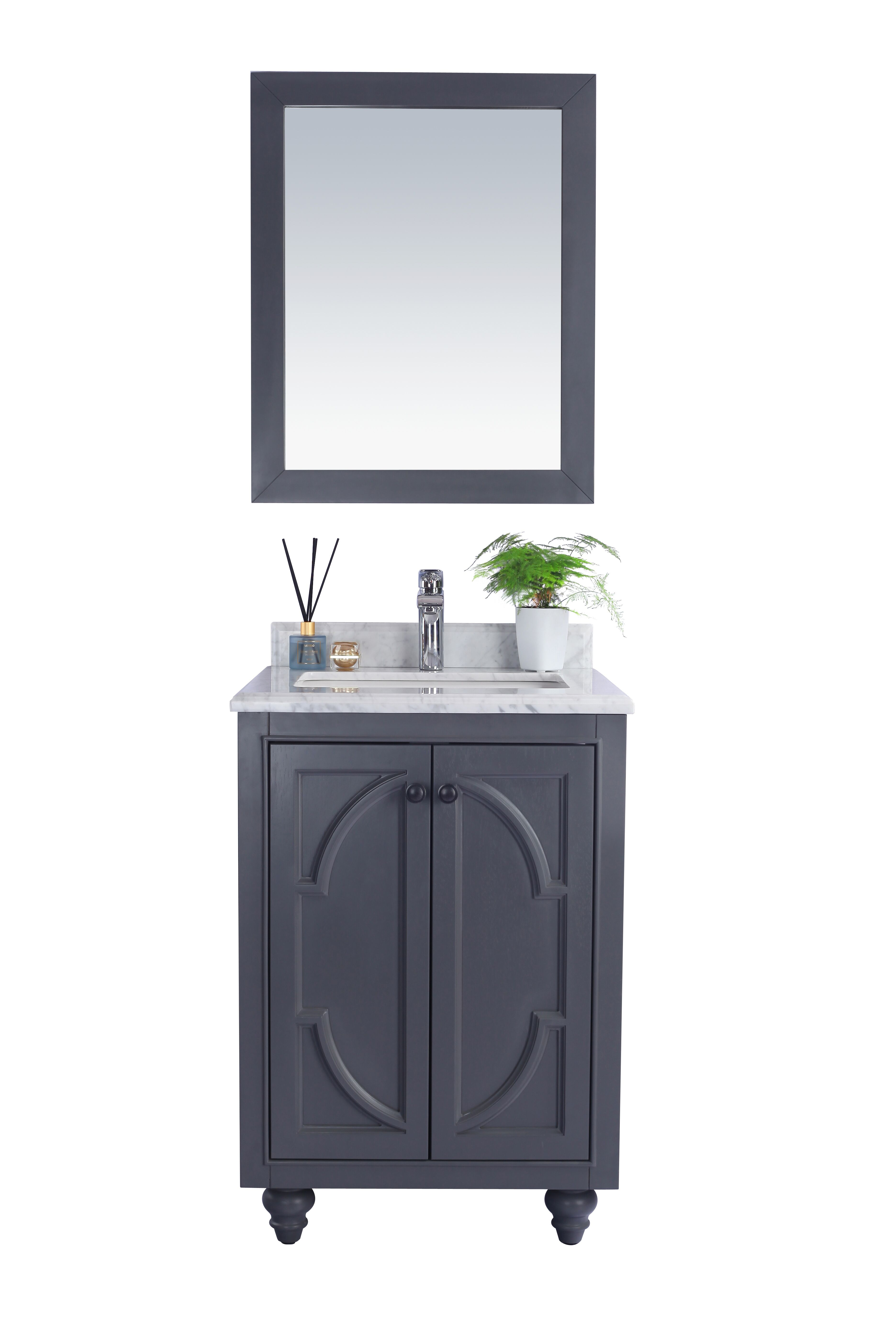 """24"""" Single Bathroom Vanity Cabinet + Top and Color Options"""