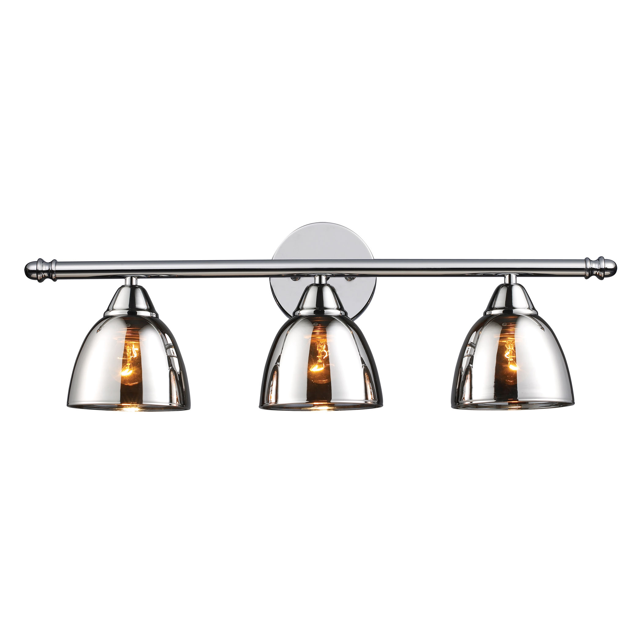 Reflections 3-Light Bath Bar in Polished Chrome