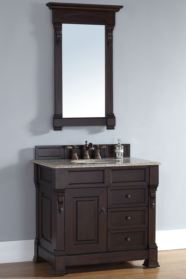 best finish for bathroom cabinets martin brookfield collection 36 quot single vanity with 22652