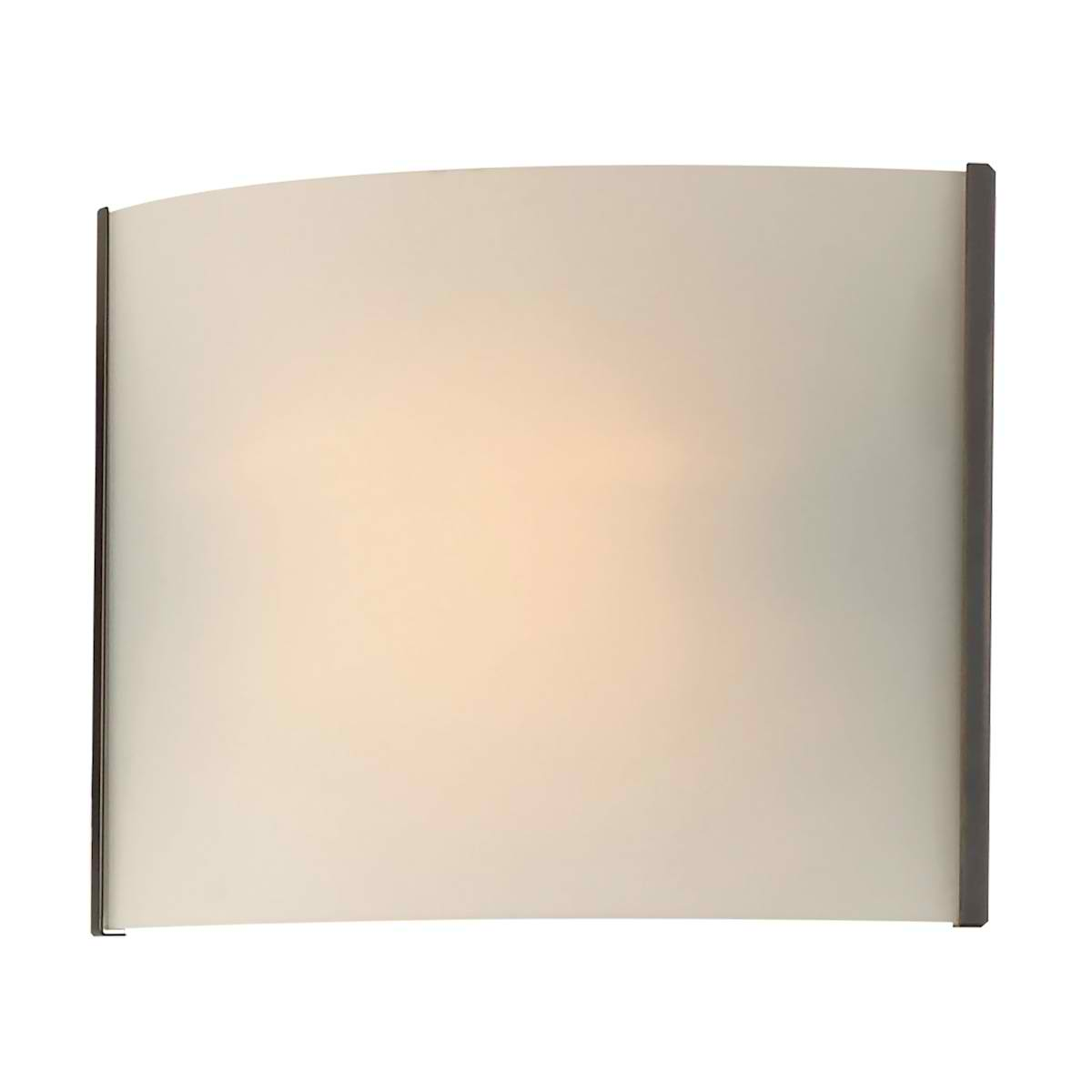 Pannelli 1 Light ORB with White Opal Glass