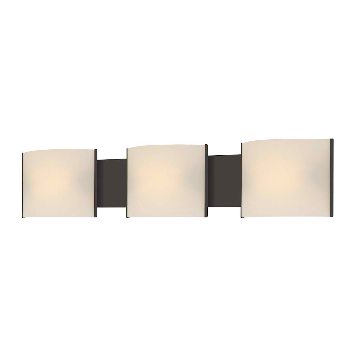 Pannelli 3 Light ORB with White Opal Glass