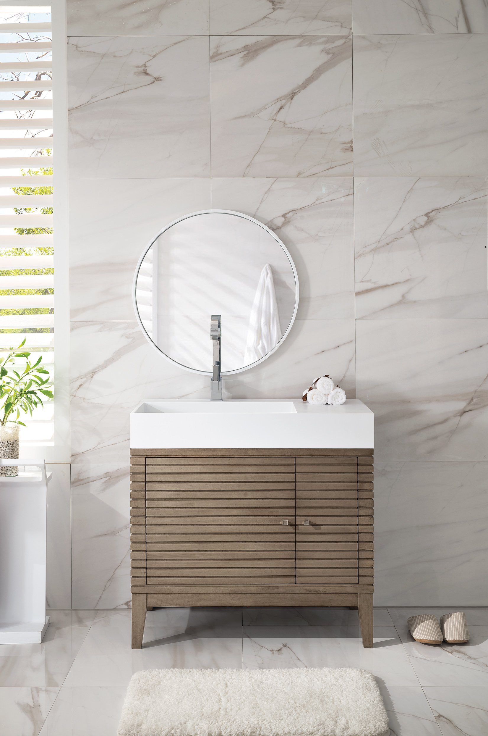 "James Martin Linear 36"" Single Bathroom Vanity"