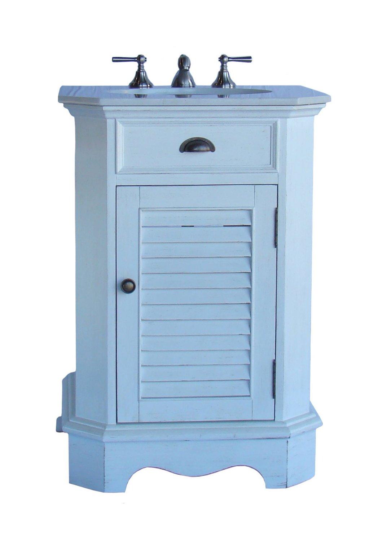 Adelina 24 inch Petite Cottage Bathroom Vanity