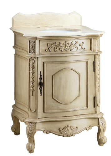 26 inch Adelina Antique Style Bathroom Vanity