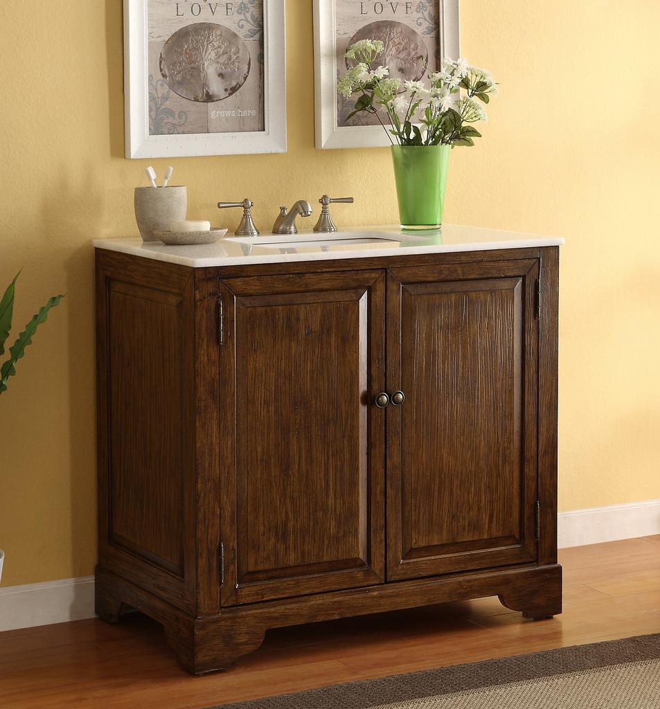 36 inch Adelina Urban Classic Bathroom Vanity