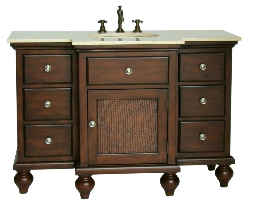 48 inch Adelina Old Country Look Bathroom Vanity