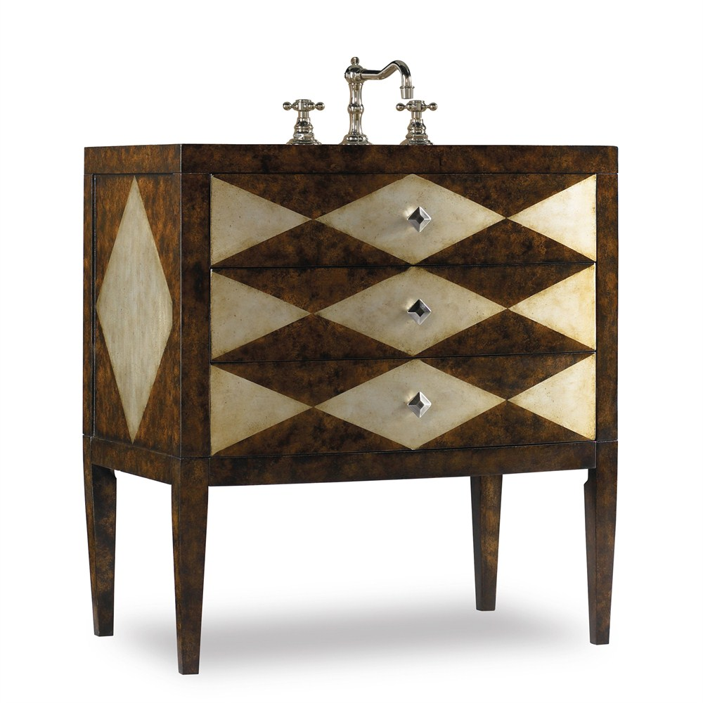 "Cole & Co. 34"" Designer Series Collection Hathaway Sink Chest"