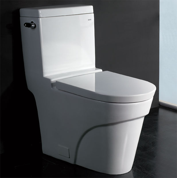 Eago One Piece Elongated Ultra Low Flush Toilet