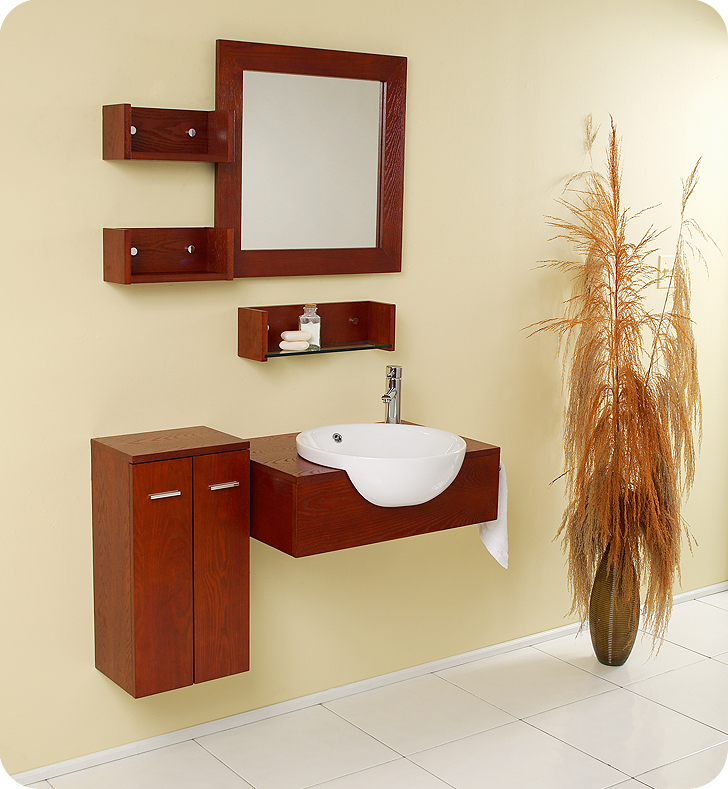 25 inch Modern Bathroom Vanity Set