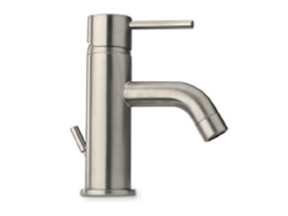 Single handle lavatory faucet Chrome Or Brushed Nickel