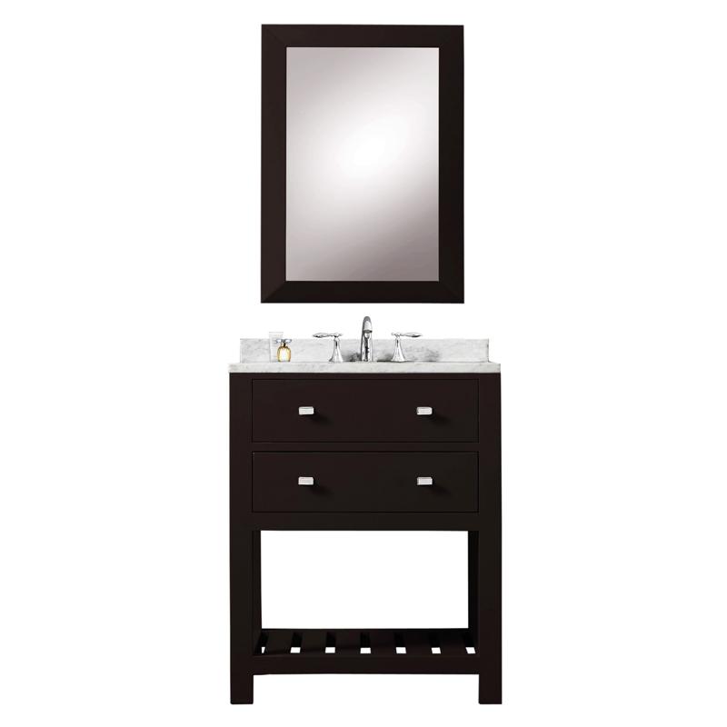 24 inch Espresso Single Sink Bathroom Vanity