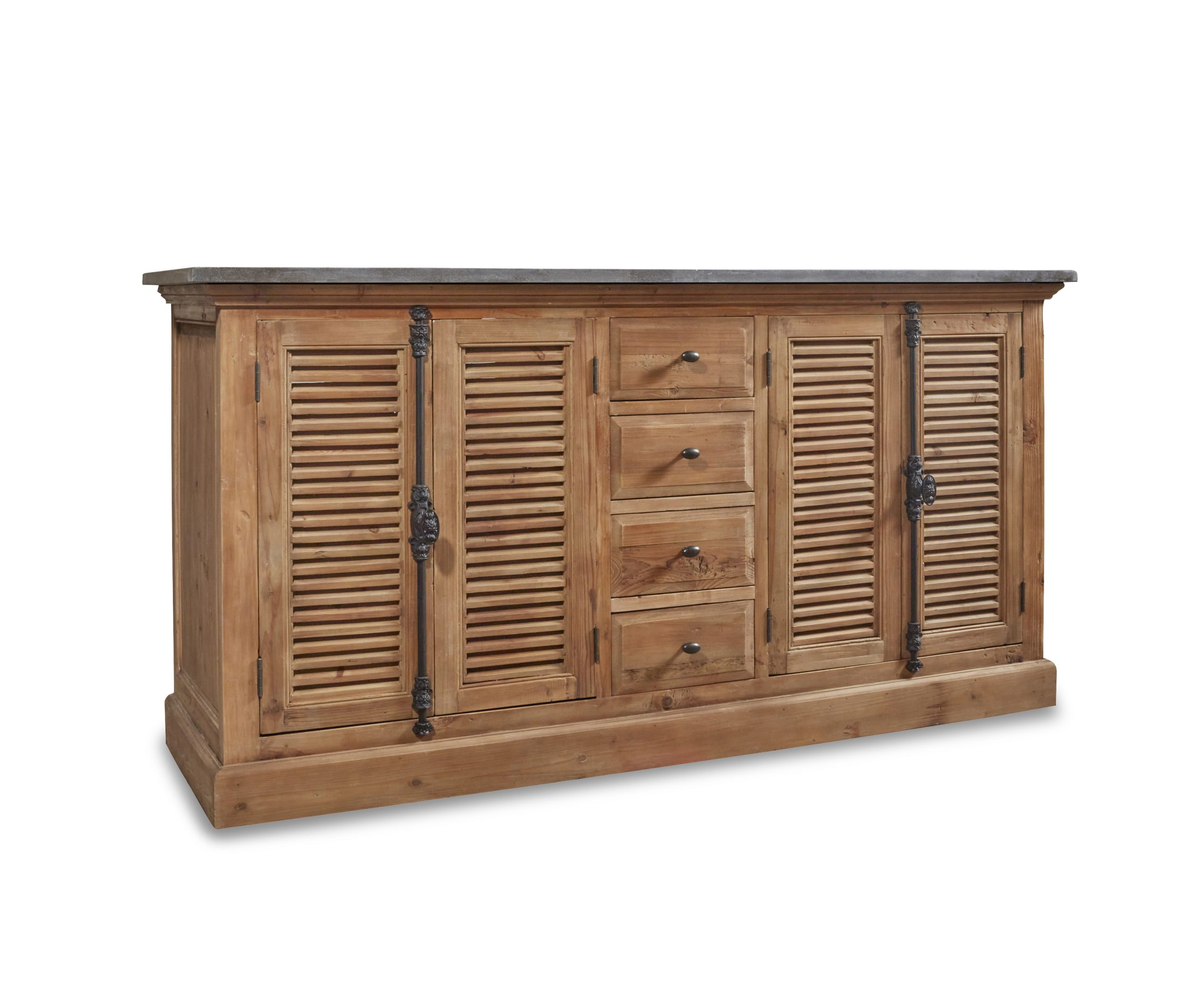 """71"""" Handcrafted Reclaimed Pine Solid Wood Double Bath Vanity Natural Finish"""