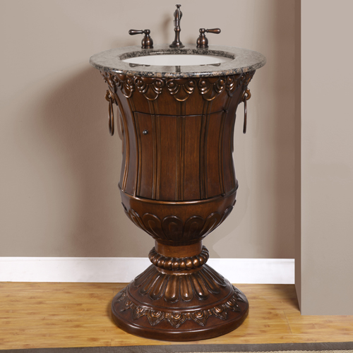 Accord Antique 23 inch Single Sink Bathroom Vanities