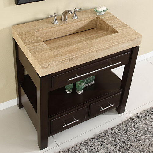 Accord Contemporary 36 inch Modular Bathroom Vanity