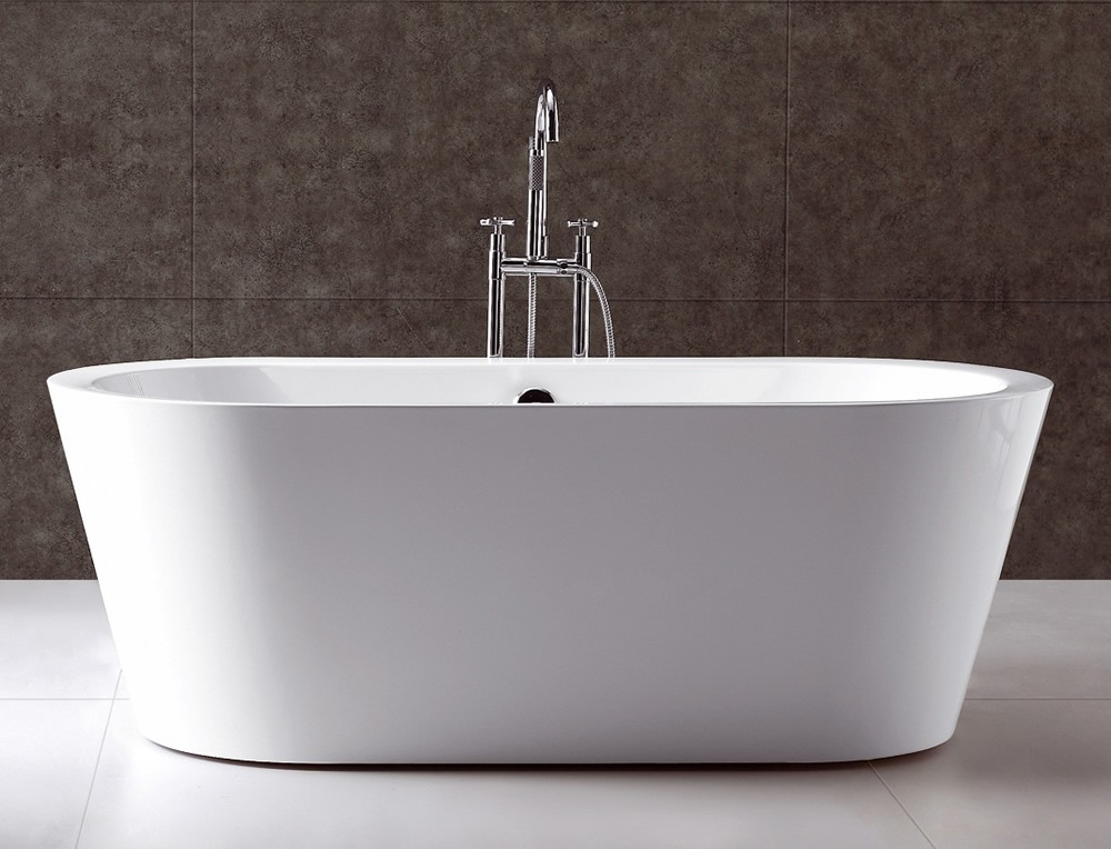 virtu usa serenity 70 white free standing soaking bathtub
