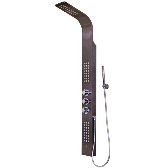 Vigo Industries Shower Column VG08009GM Gunmetal Shower Panel