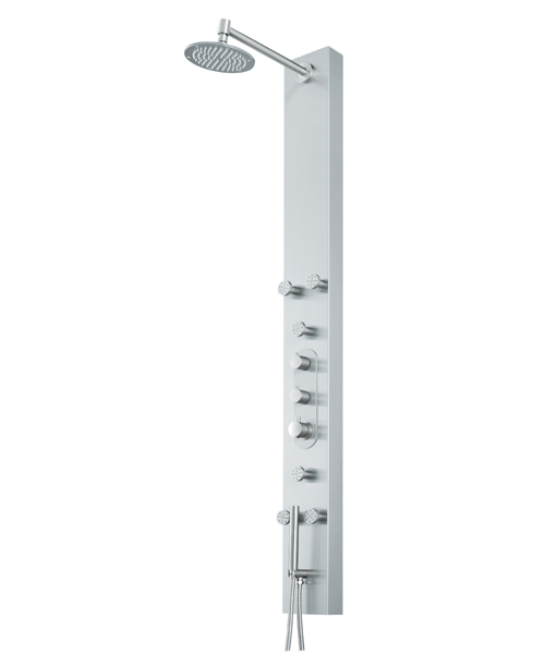 Vigo VG08001 Six Body Spray Shower Panel, Hand Shower