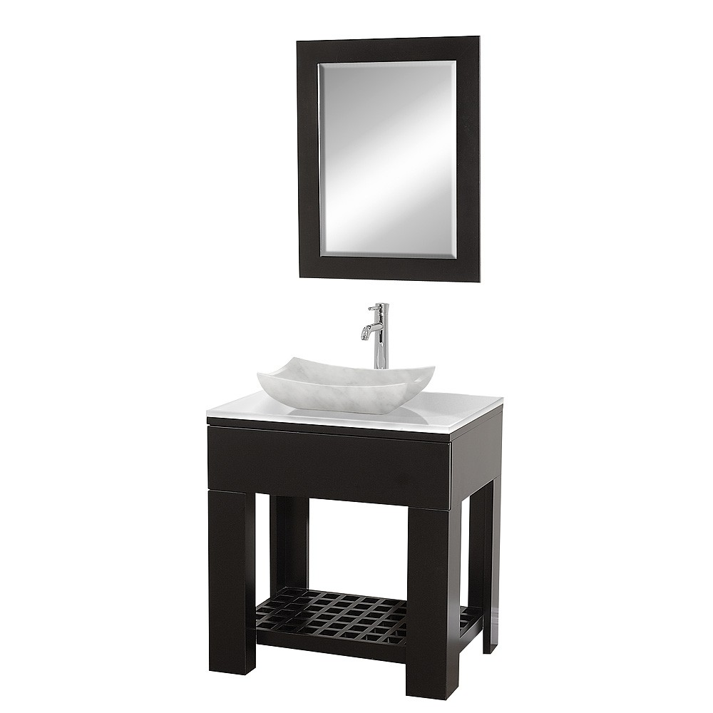 "Wyndham Collection Zen II 30"" Bathroom Vanity"