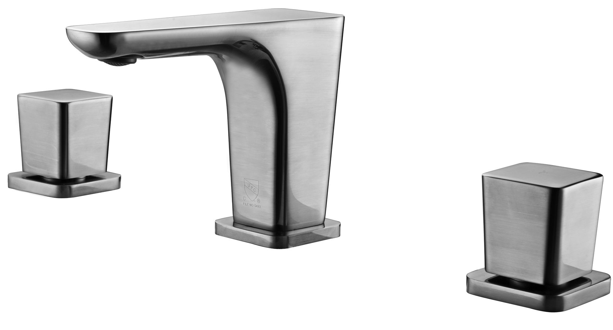 ALFI Brand AB1782 Brushed Nickel or Polished Chrome Widespread Modern Bathroom Faucet