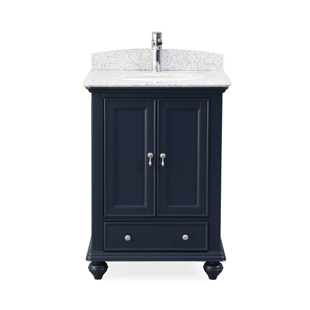 "Adelina 25"" Powder Room Bathroom Sink Vanity with 4 Color Options"