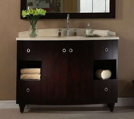 48 Inch Dark Espresso Bathroom Vanity
