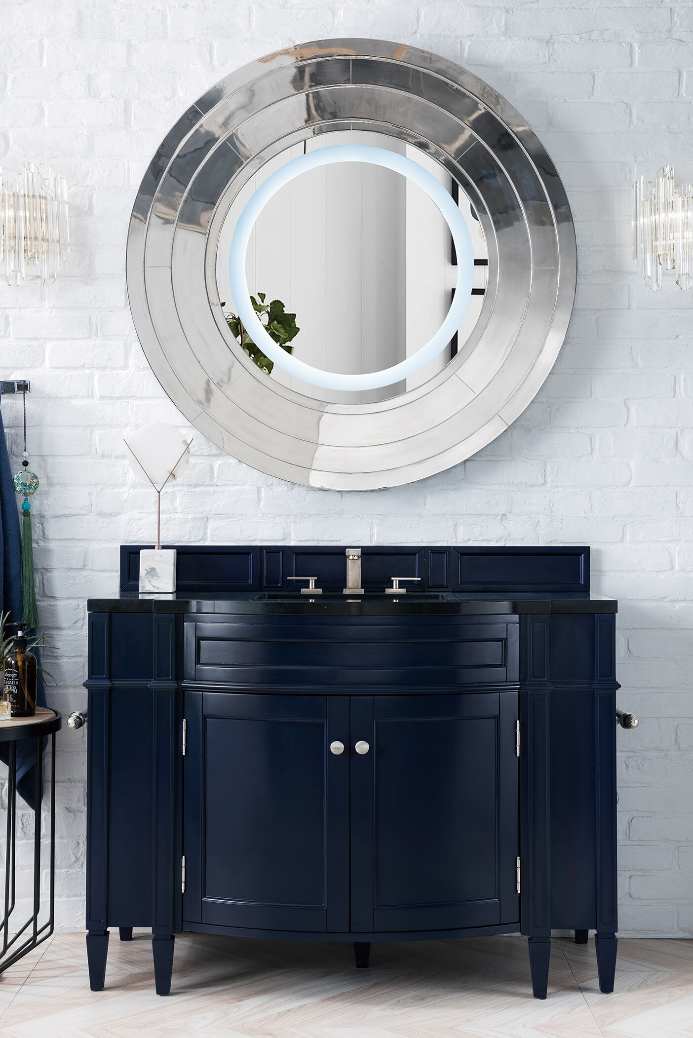 "James Martin Brittany Collection 46"" Single Vanity, Victory Blue"