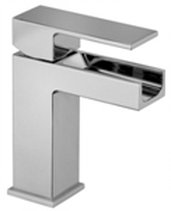 Waterfall Single Handle Lavatory Faucet in Chrome
