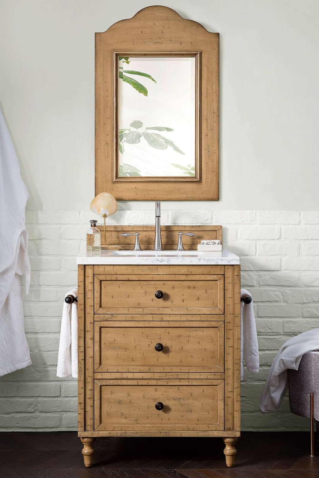 """James Martin Copper Cove Collection 26"""" Single Vanity Cabinet, Driftwood Patina Finish"""