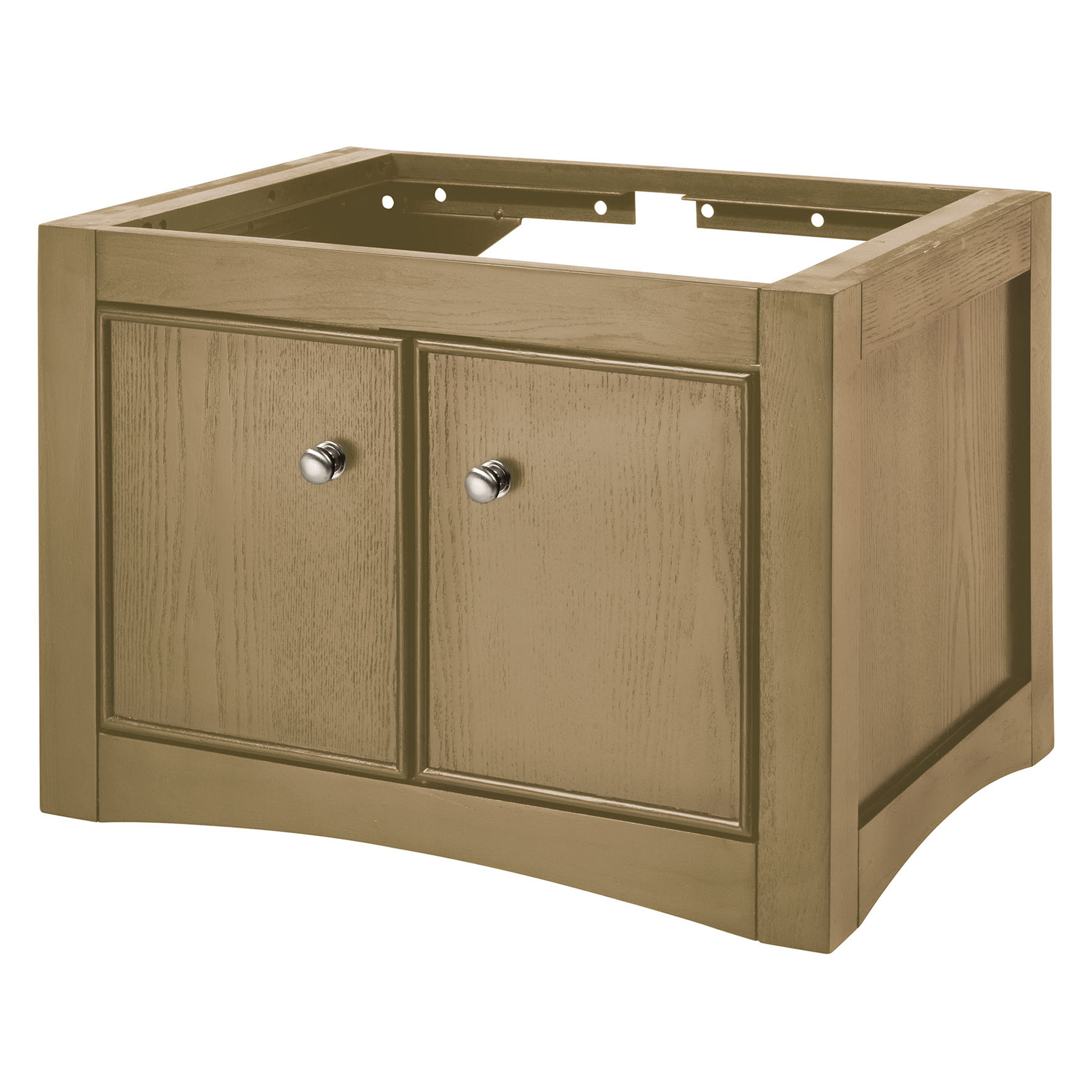 "24"" Wall Mounted Bathroom Vanity - Natural Ash Finish"