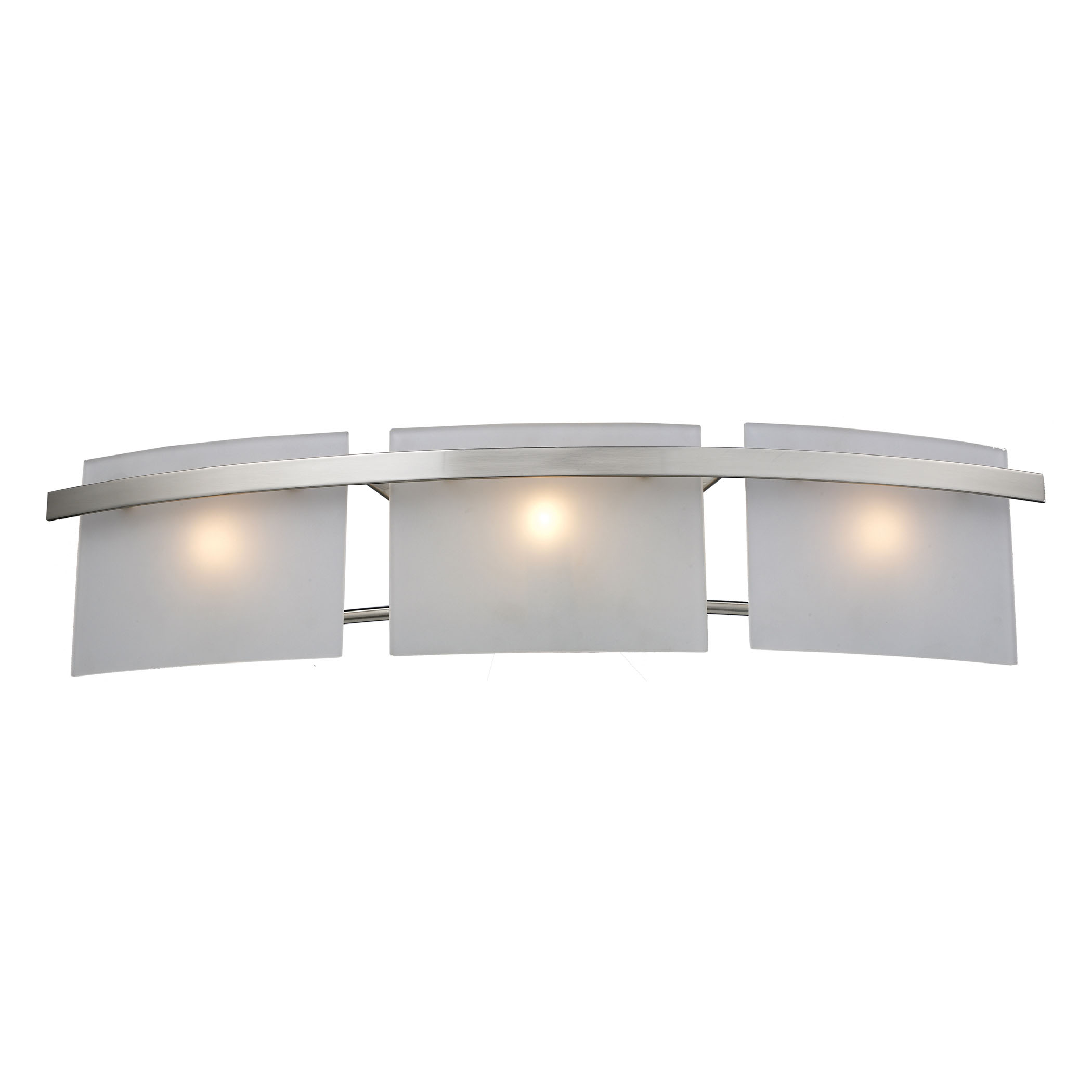 Briston 3-Light WB in Satin Nickel